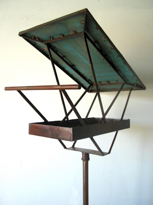 lynda andrews-barry: modern bird feeder as sculpture :  feeder bird modern sculpture