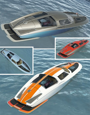 the angry fisherman: 1963  chevrolet corvette boat from iamtheangryfisherman.blogspot.com