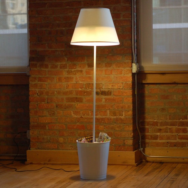 trash or treasure? :  new york design week lighting lighting design floor lamp