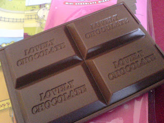 Tau saja favorite aku coklat!
