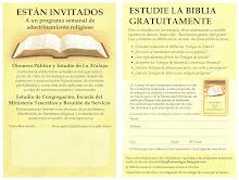 Nueva Invitación al Salón del Reino