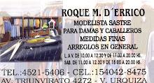 Sastre Roque D`Errico