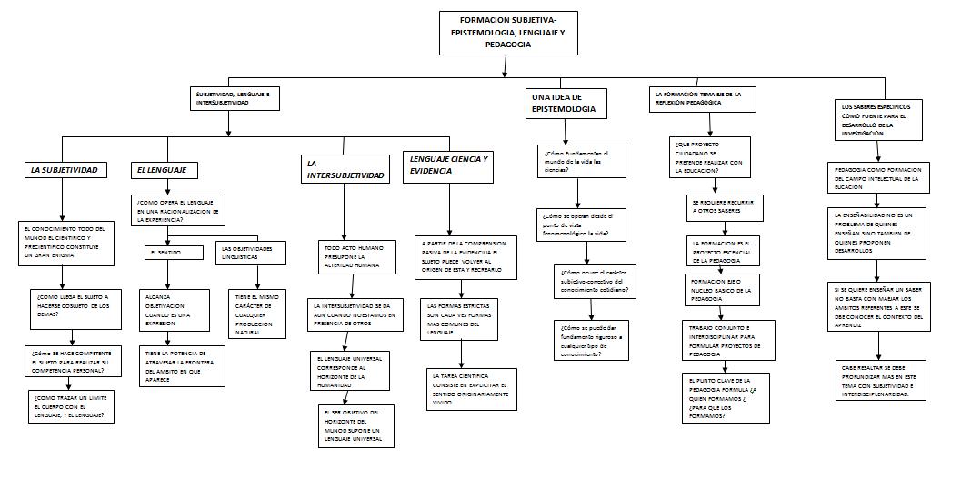 Mapa conceptual capitulo 5