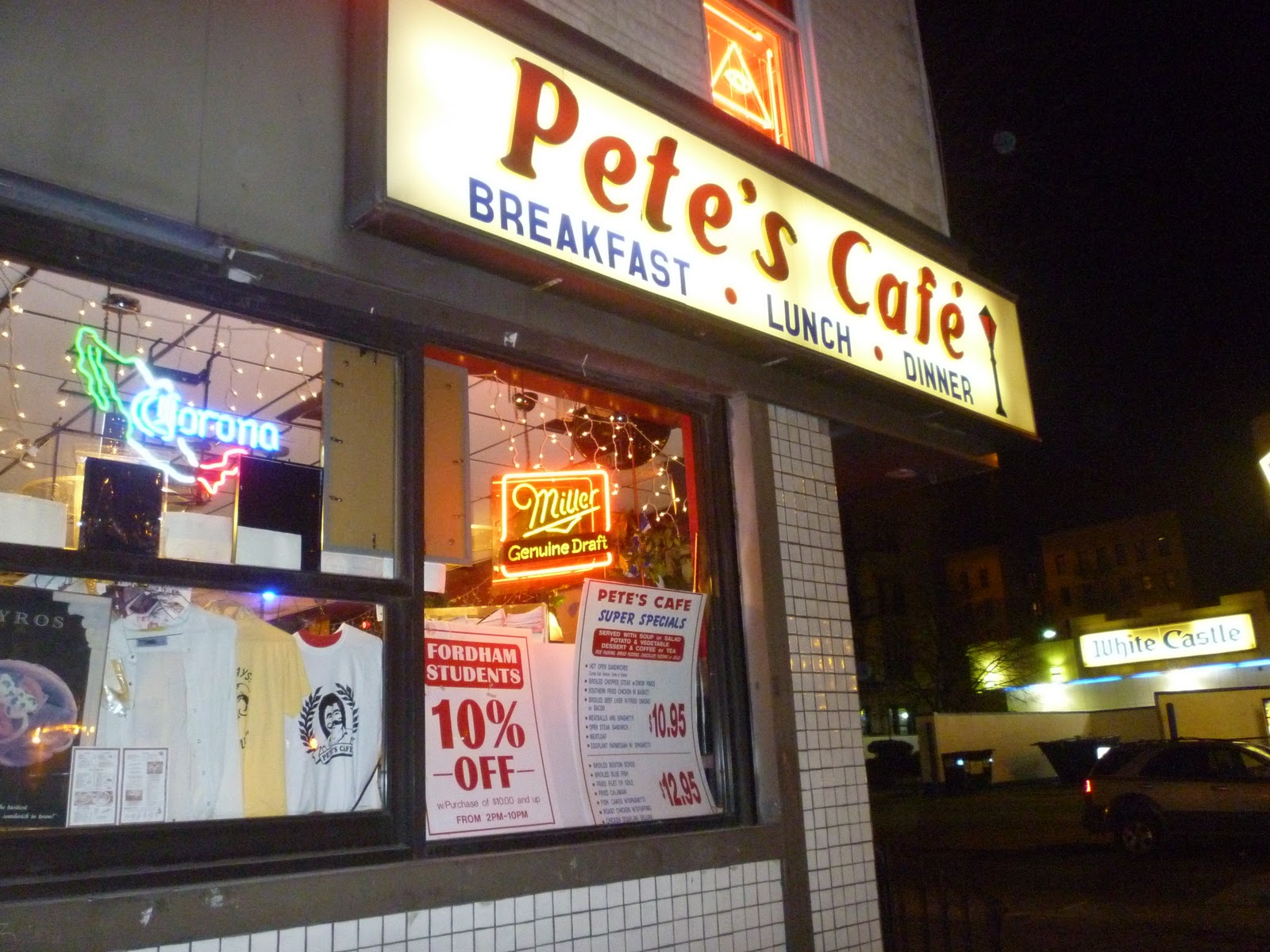 Pete S Cafe Fordham Road