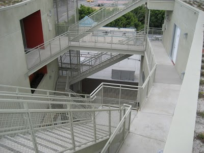 Cherokee Lofts walkway