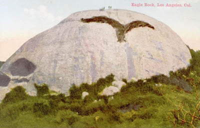 Eagle Rock Los Angeles - Vintage Postcard