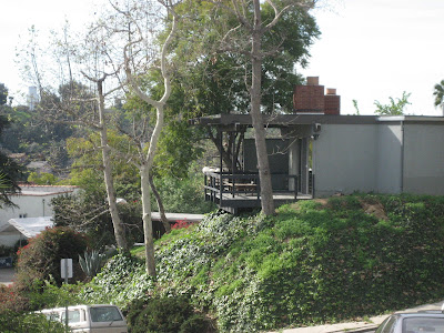 Modern House and View of the Silver Lake Hills, Los Angeles