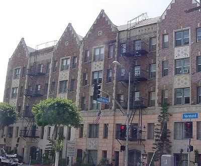 Los Feliz Los Angeles Apartment Building