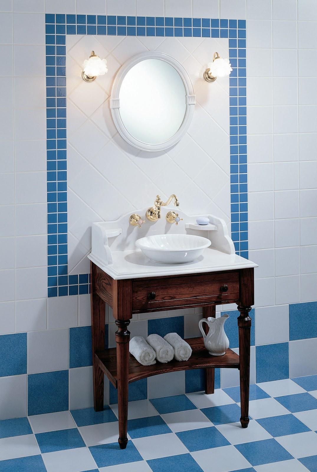 TOM INTENSO: Banheiros Antigos #1D4763 1075x1600 Banheiro Antigo Decoração