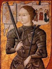 Joana D'arc - Heroína Francesa e Santa Católica - 1412 / 1431