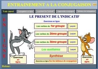 SCORPIONS DES ARDOISES: Exercices de conjugaison : le présent de l'indicatif