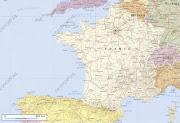 Géographie : de la photo satellite à la carte france carte