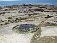 Un cercle sur un rocher...