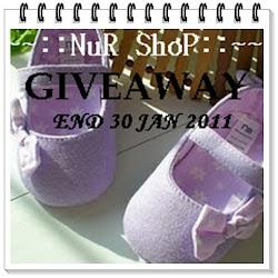 ~~Nur Shop Giveaway~~
