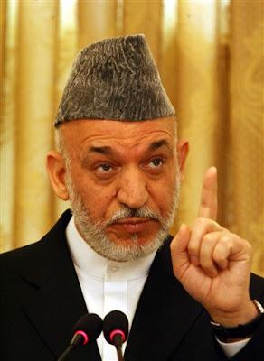 Karzai exige que Otan pare com suas operações no Afeganistão