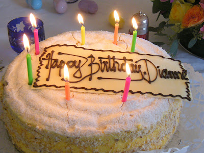 Birthday Cake Images For Diane : Here in the Hills