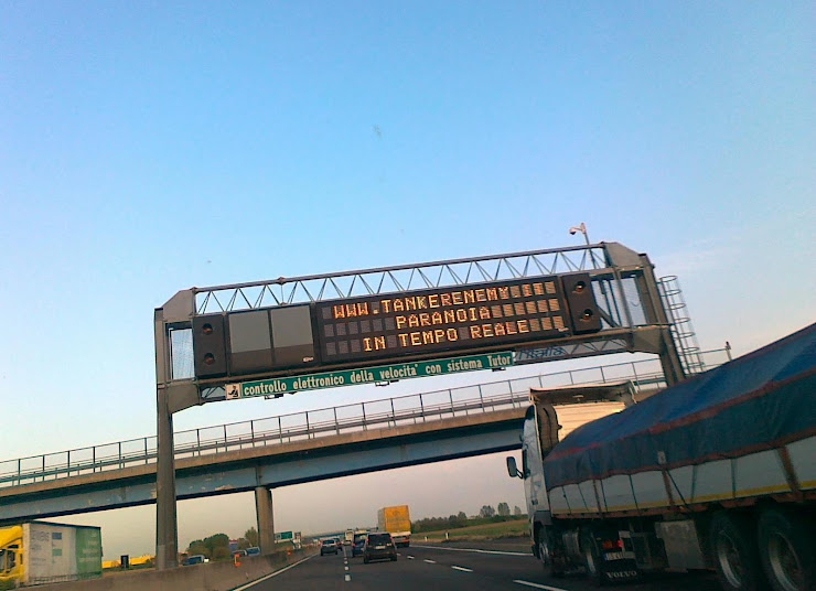 Anche in autostrada