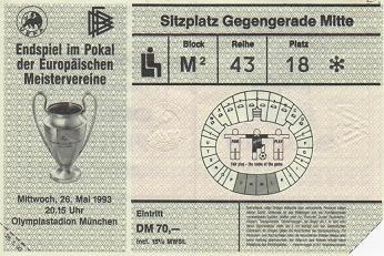 1993, MUNIC (Olympique Marsella)