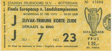 1972, ROTTERDAM (Ajax)