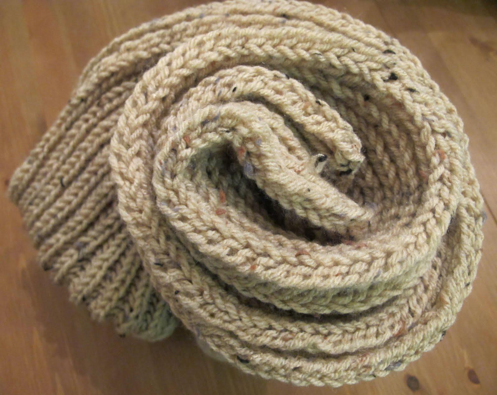 Как связать мужской шарф крючком 7
