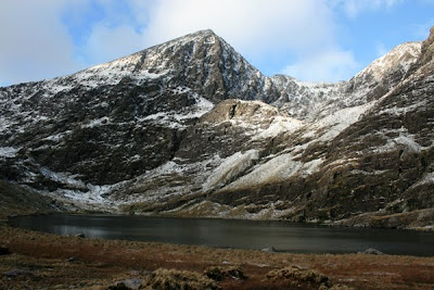 Carrauntoohil in winter, county Kerry