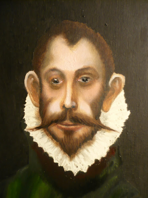 El Greco, el caballero de la mano en el pecho