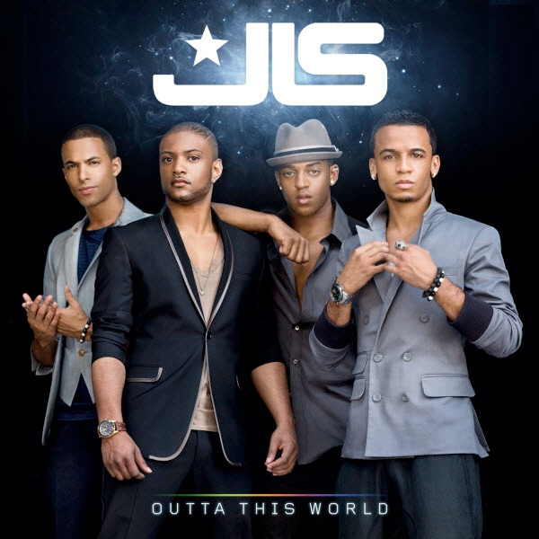 JLS' album cover for sophomore effort Outta This World has been unleashed