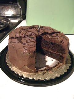 Mama Shida's Place: Whole Foods chocolate buttercream layer cake