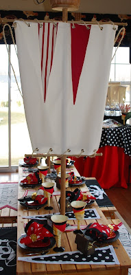 pirate party pirate theme ideas featured on totally tabletops  party ideas  http://www.frostedevents.com