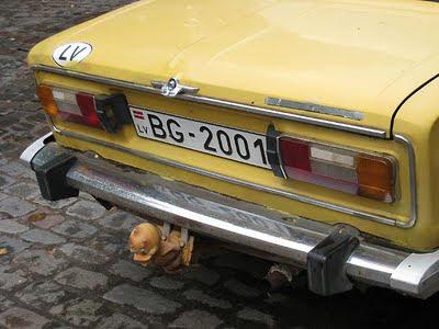 Latvian car