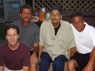 Uncle Ed, Uncle John, Dad and Uncle Mark