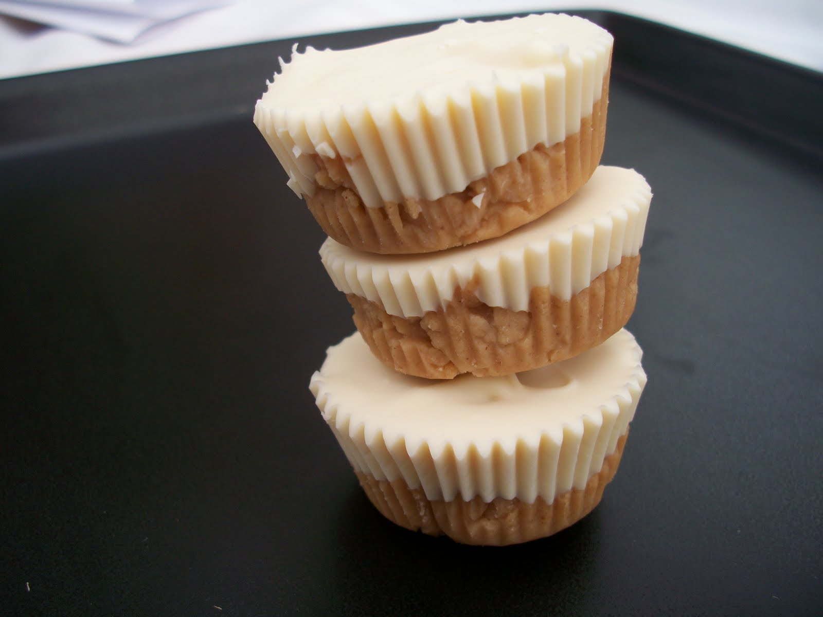 peanut butter cups! White chocolate and peanut butter were meant to be ...