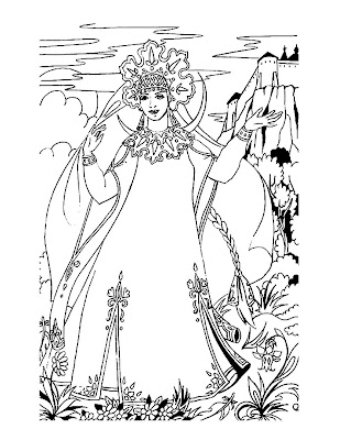 princesses coloring pages to print. And here is a princess in a