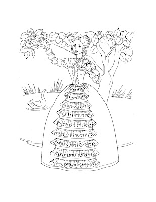 princess coloring pages printable. Princess Coloring Pages: Free