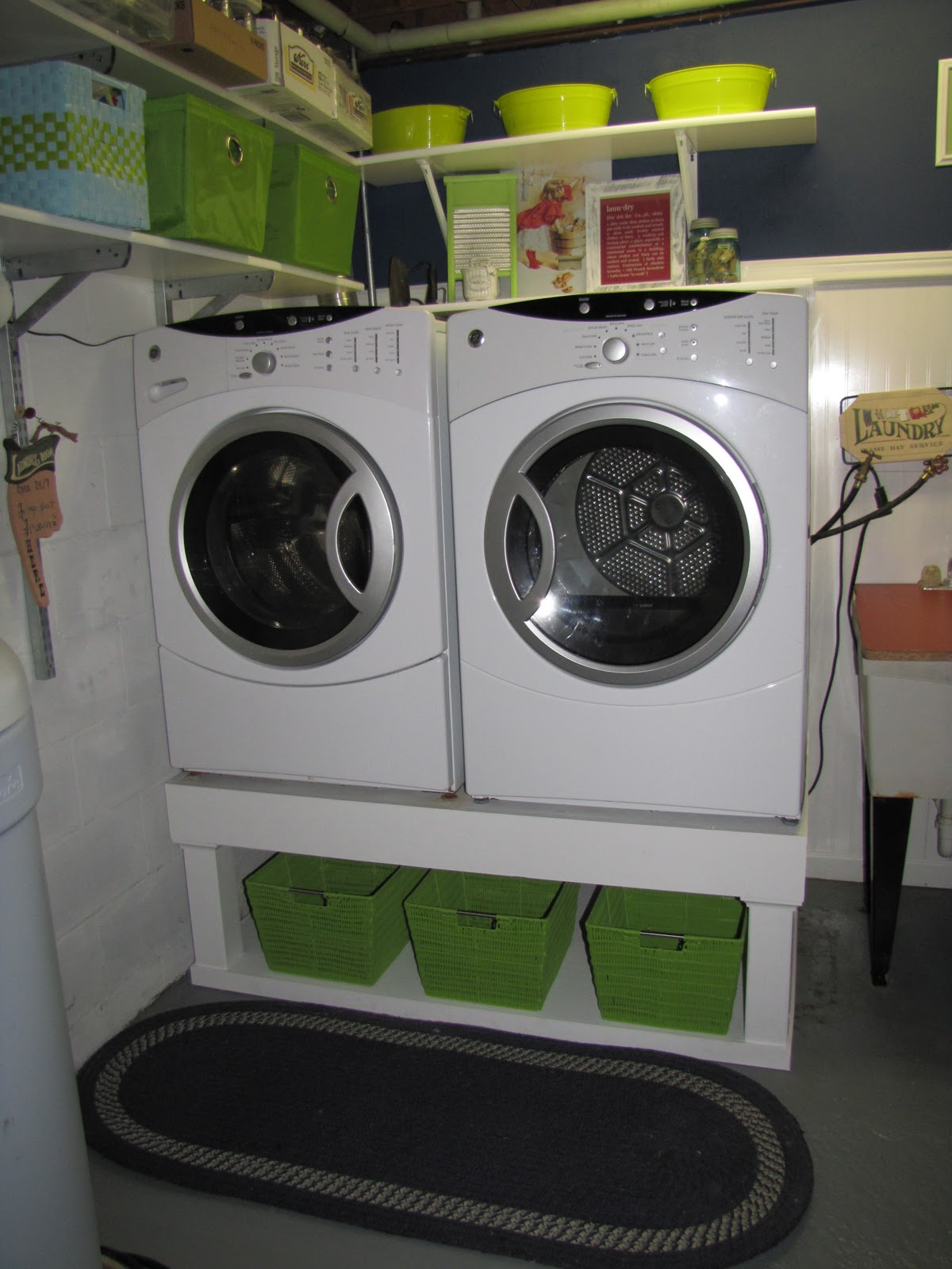 Small Laundry Rooms On Pinterest