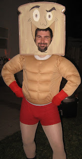 halloween costume ideas powdered toast man