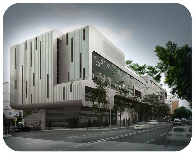 Cultura de sevilla edificio de oficinas en ram n y cajal for Oficinas de arquitectura