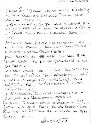 Respuesta Parrocchia di San Giovanni Battista de Induno Olona