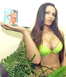 Naina shows off her big assets