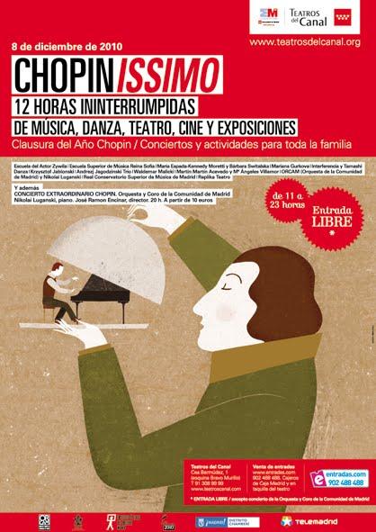 Chopin issimo conciertos gratis en teatros del canal Teatros del canal entradas