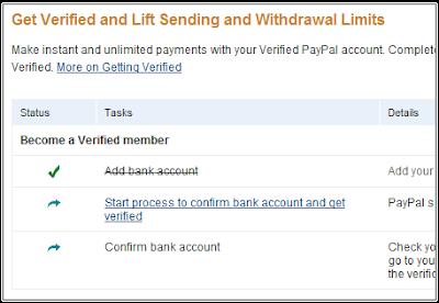 cara mudah verifikasi paypal dengan rekening bank lokal indonesia