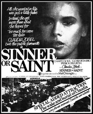 Sinner or Saint (1984)- Stars Charito Solis, Gloria Romero, Patrick