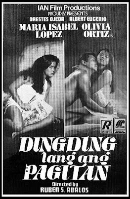 Dingding Lang ang Pagitan (1986)- Stars Maria Isabel Lopez, Olivia