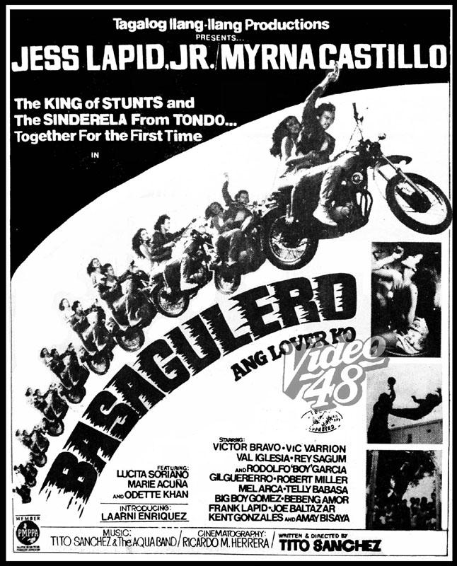 Ang Lover Ko 1981 Stars Jess Lapid Jr And Myrna Castillo
