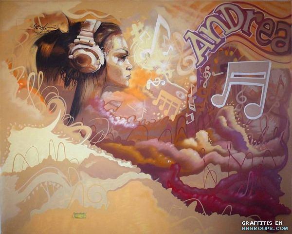 El graffiti del capitolino un movimiento cultural el hip hop - Graffitis en paredes ...