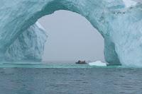 Prachtige ijsboog