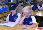 Buddy Reading Year 4 and Year 2