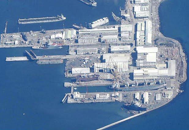 Imagen aérea de Asmar Talcahuano muestra la real magnitud del impacto del maremoto