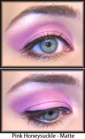 Eyeshadow, including pink eyeshadow, is a make-up essential.