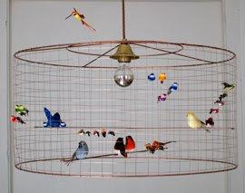 interior divine little bird chandeliers mathieu challieres. Black Bedroom Furniture Sets. Home Design Ideas
